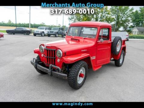 1954 Willys Jeepster