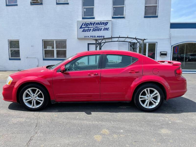 2012 Dodge Avenger for sale at Lightning Auto Sales in Springfield IL
