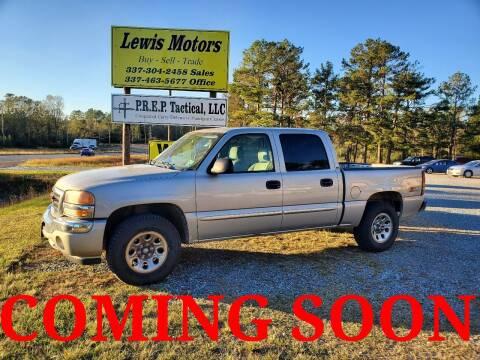 2006 GMC Sierra 1500 for sale at Lewis Motors LLC in Deridder LA