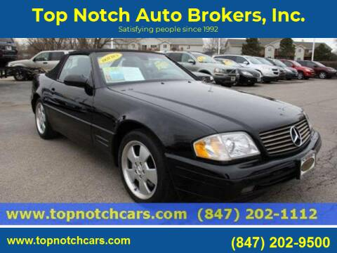 1999 Mercedes-Benz SL-Class for sale at Top Notch Auto Brokers, Inc. in Palatine IL