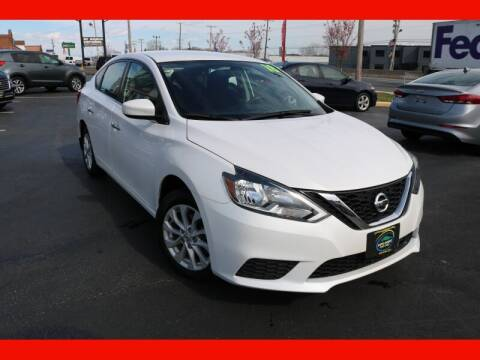 2018 Nissan Sentra for sale at AUTO POINT USED CARS in Rosedale MD