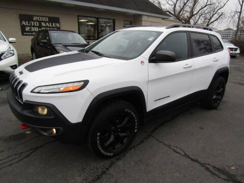 2015 Jeep Cherokee for sale at 2010 Auto Sales in Troy NY