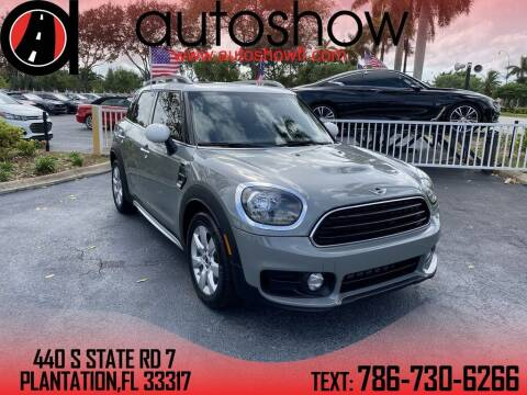 2018 MINI Countryman for sale at AUTOSHOW SALES & SERVICE in Plantation FL