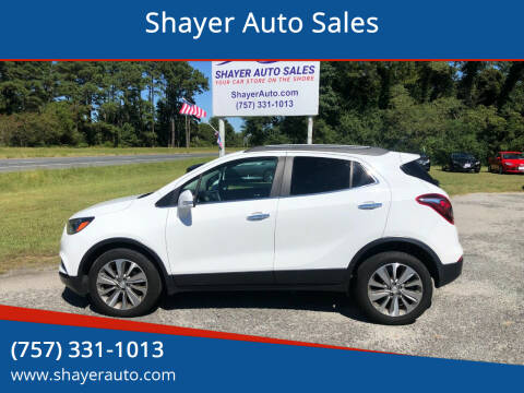 2017 Buick Encore for sale at Shayer Auto Sales in Cape Charles VA