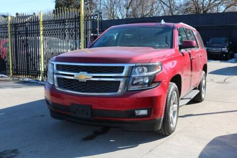 2015 Chevrolet Tahoe for sale at F & M AUTO SALES in Detroit MI