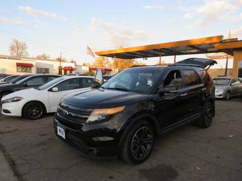 2013 Ford Explorer for sale at Nile Auto Sales in Denver CO