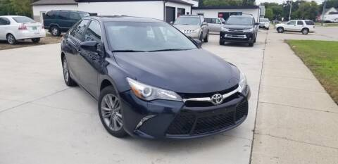 2017 Toyota Camry for sale at GOOD NEWS AUTO SALES in Fargo ND