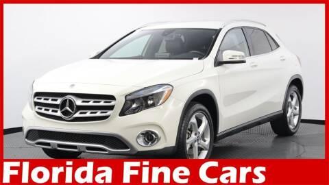 2018 Mercedes-Benz GLA for sale at Florida Fine Cars - West Palm Beach in West Palm Beach FL