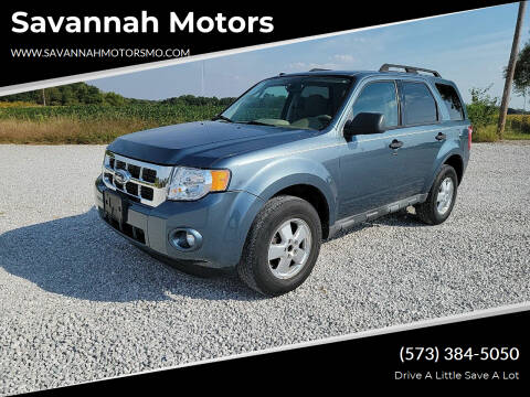 2010 Ford Escape for sale at Savannah Motors in Elsberry MO