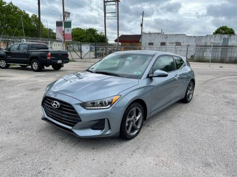 2019 Hyundai Veloster for sale at Saipan Auto Sales in Houston TX