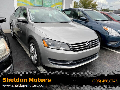 2014 Volkswagen Passat for sale at Sheldon Motors in Tampa FL