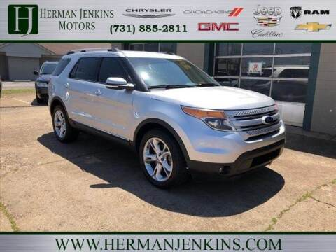 2015 Ford Explorer for sale at Herman Jenkins Used Cars in Union City TN