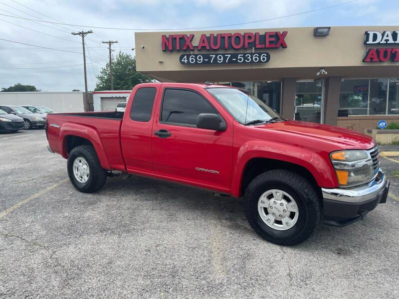 2004 GMC Canyon for sale at NTX Autoplex in Garland TX