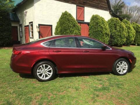 2015 Chrysler 200 for sale at March Motorcars in Lexington NC