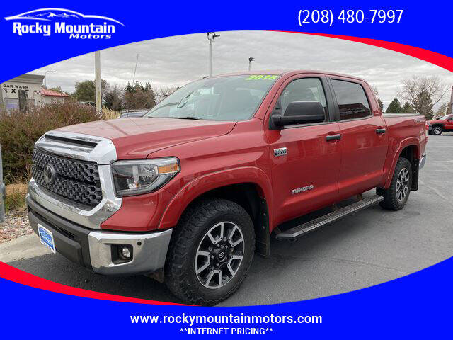 2018 Toyota Tundra for sale at Rocky Mountain Motors in Idaho Falls ID