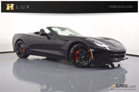 2017 Chevrolet Corvette for sale at HGREG LUX EXCLUSIVE MOTORCARS in Pompano Beach FL