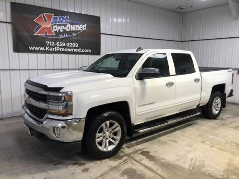 2016 Chevrolet Silverado 1500 for sale at Karl Pre-Owned in Glidden IA