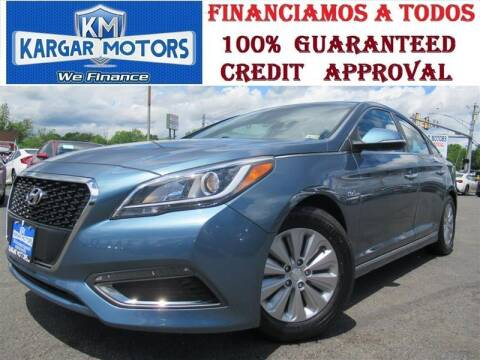 2016 Hyundai Sonata Hybrid for sale at Kargar Motors of Manassas in Manassas VA