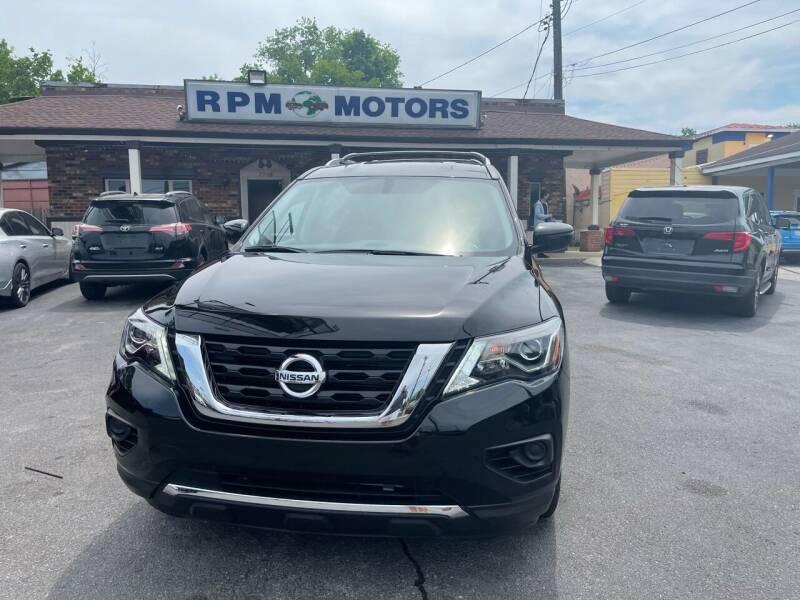 2020 Nissan Pathfinder for sale at RPM Motors in Nashville TN