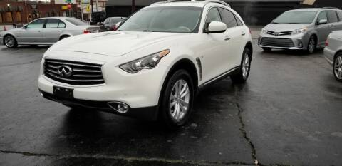 2015 Infiniti QX70 for sale at Music City Rides in Nashville TN