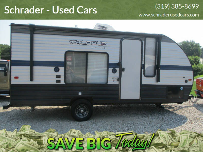 2019 Forest River wolf pup for sale at Schrader - Used Cars in Mount Pleasant IA