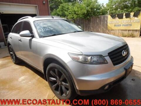 2005 Infiniti FX45 for sale at East Coast Auto Source Inc. in Bedford VA