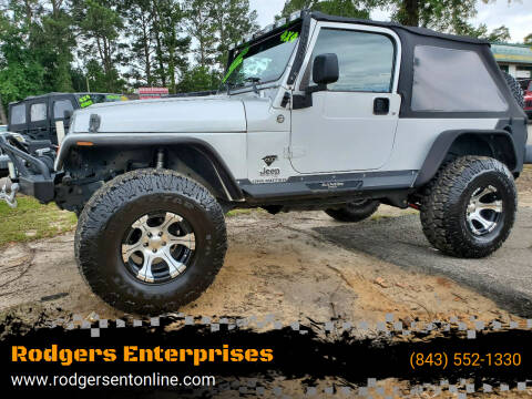 2005 Jeep Wrangler for sale at Rodgers Enterprises in North Charleston SC