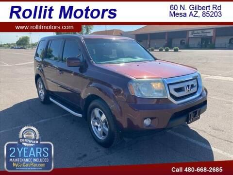 2011 Honda Pilot for sale at Rollit Motors in Mesa AZ