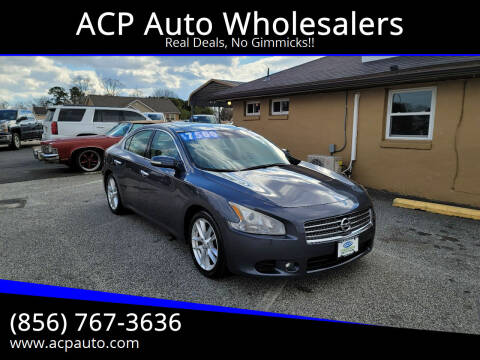 2009 Nissan Maxima for sale at ACP Auto Wholesalers in Berlin NJ
