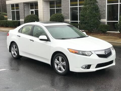 2013 Acura TSX for sale at Weaver Motorsports Inc in Cary NC