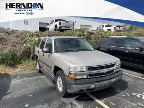 2004 Chevrolet Tahoe for sale at Herndon Chevrolet in Lexington SC