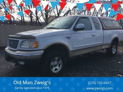 1999 Ford F-150 for sale at Old Man Zweig's in Plymouth Township PA