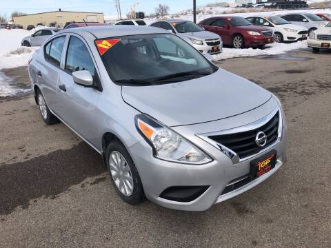 2017 Nissan Versa for sale at Top Line Auto Sales in Idaho Falls ID