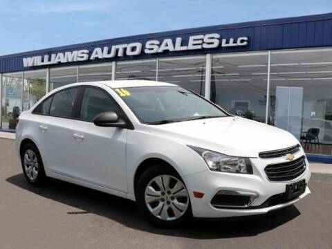 2016 Chevrolet Cruze Limited for sale at Williams Auto Sales, LLC in Cookeville TN