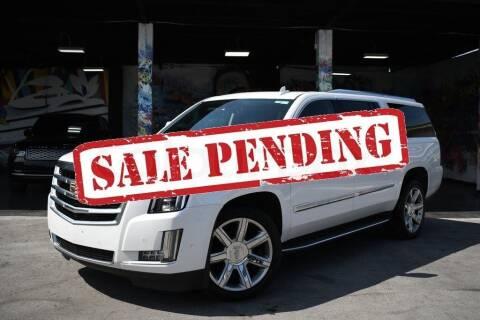 2020 Cadillac Escalade ESV for sale at STS Automotive - Miami, FL in Miami FL