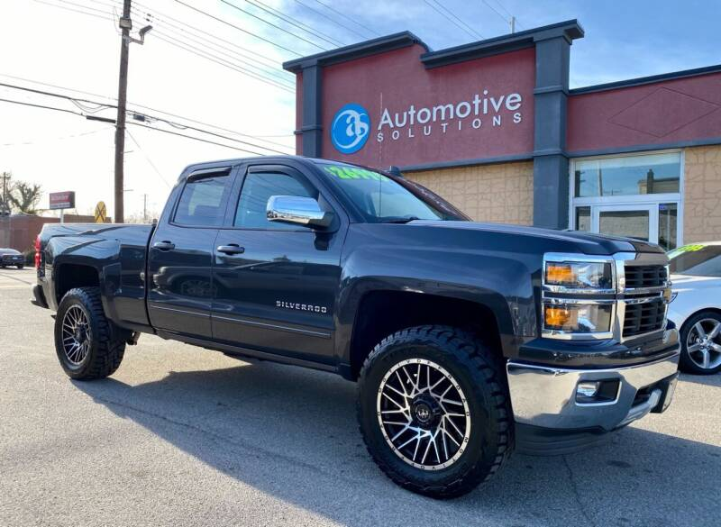 2015 Chevrolet Silverado 1500 for sale at Automotive Solutions in Louisville KY