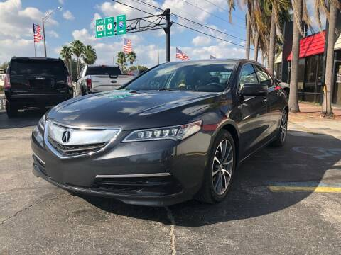 2015 Acura TLX for sale at Gtr Motors in Fort Lauderdale FL