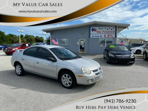 2005 Dodge Neon for sale at My Value Car Sales - Upcoming Cars in Venice FL