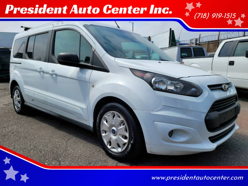 2014 Ford Transit Connect Wagon for sale at President Auto Center Inc. in Brooklyn NY