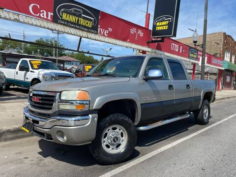 2003 GMC Sierra 2500HD for sale at Manny Trucks in Chicago IL