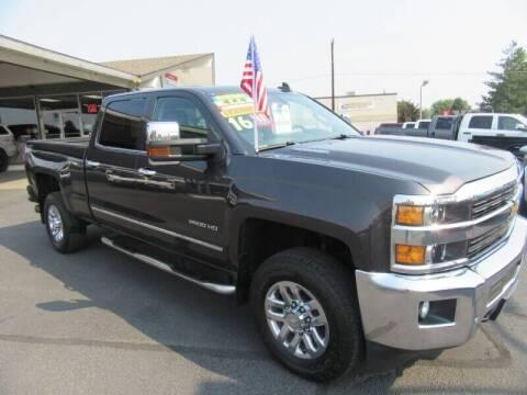 2016 Chevrolet Silverado 2500HD for sale at Bull Mountain Auto, Truck & Trailer Sales in Roundup MT