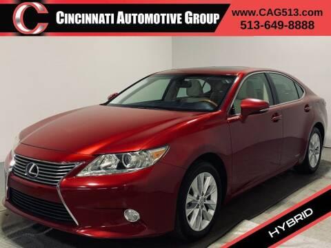 2013 Lexus ES 300h for sale at Cincinnati Automotive Group in Lebanon OH