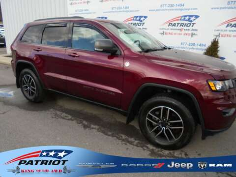 2019 Jeep Grand Cherokee for sale at PATRIOT CHRYSLER DODGE JEEP RAM in Oakland MD