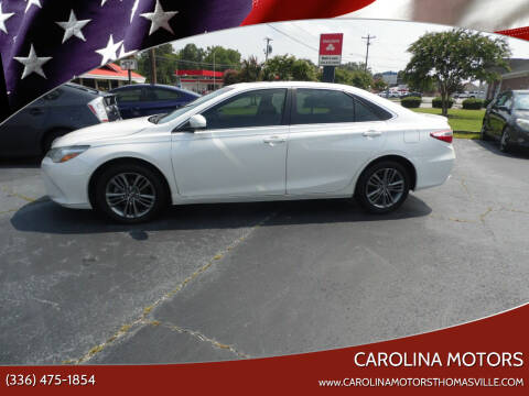 2017 Toyota Camry for sale at CAROLINA MOTORS in Thomasville NC