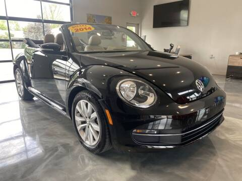 2014 Volkswagen Beetle Convertible for sale at Crossroads Car & Truck in Milford OH