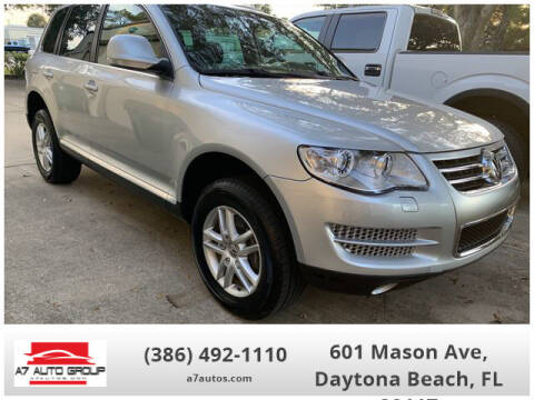 2010 Volkswagen Touareg for sale at A7 AUTO SALES in Daytona Beach FL