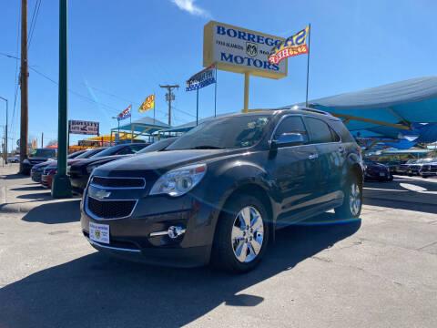 2013 Chevrolet Equinox for sale at Borrego Motors in El Paso TX