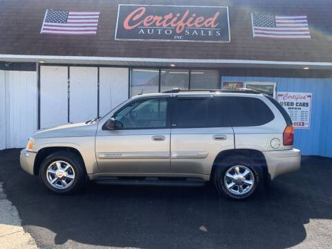 2005 GMC Envoy for sale at Certified Auto Sales, Inc in Lorain OH