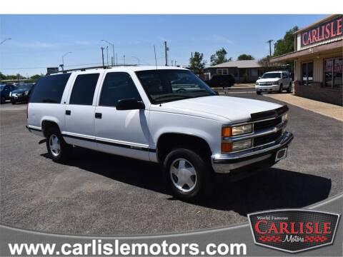 1999 Chevrolet Suburban for sale at Carlisle Motors in Lubbock TX