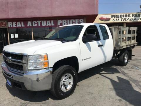 2007 Chevrolet Silverado 3500HD CC for sale at Sanmiguel Motors in South Gate CA